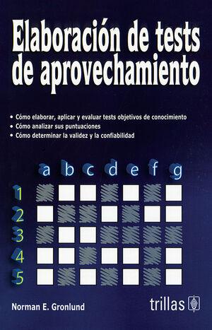ELABORACION DE TESTS DE APROVECHAMIENTO