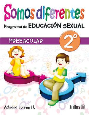 SOMOS DIFERENTES. PROGRAMA DE EDUCACION SEXUAL, PREESCOLAR 2