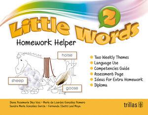 LITTLE WORDS 2. HOMEWORK HELPER