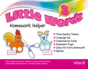LITTLE WORDS 3. HOMEWORK HELPER