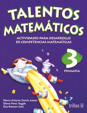 TALENTOS MATEMATICOS 3. PRIMARIA