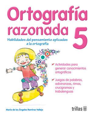 ORTOGRAFIA RAZONADA 5